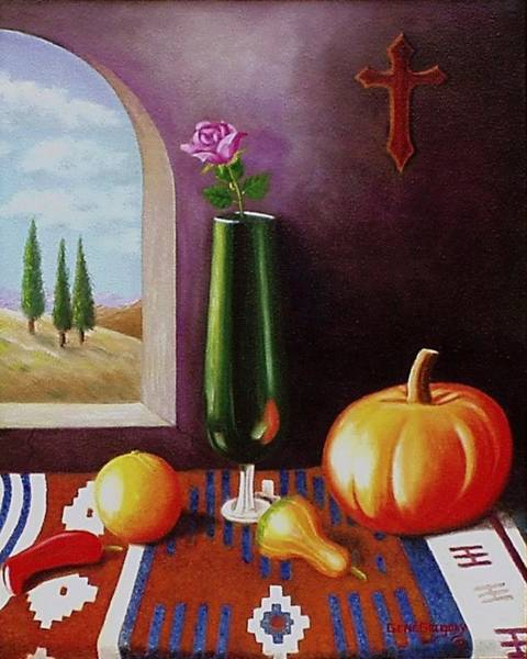 Painting - Mi Casa by Gene Gregory