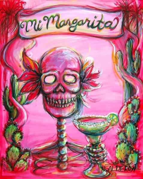 Wall Art - Painting - Mi Margarita II by Heather Calderon