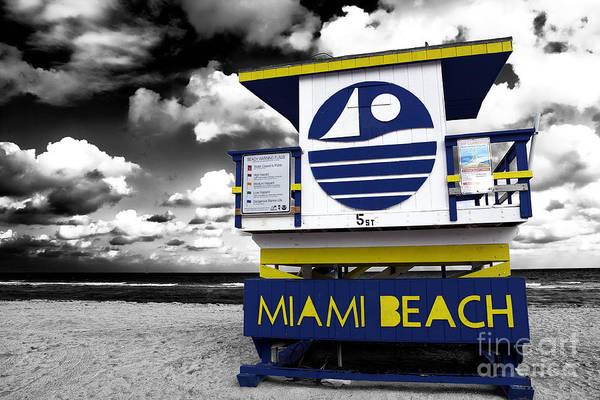 Photograph - Miami Beach Fusion by John Rizzuto