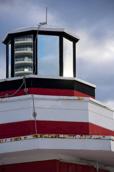 Photograph - Miami Beach Life Guard House Sunrise Lighthouse by Toby McGuire