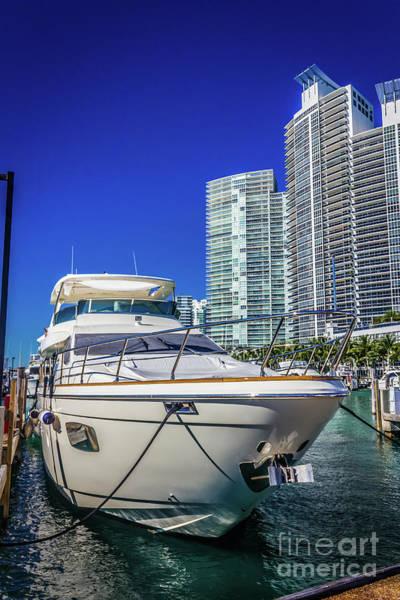 Photograph - Miami Beach Marina 4606 by Carlos Diaz
