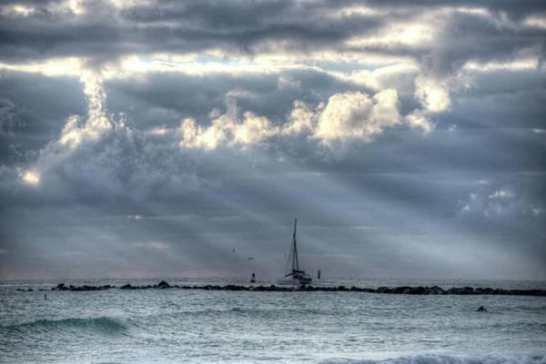 Photograph - Miami Beach Sailboat Miami Fl by Toby McGuire