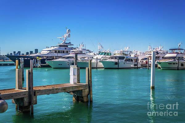 Photograph - Miami Beach Series 4549 by Carlos Diaz