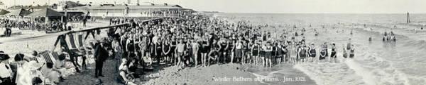 Wall Art - Photograph - Miami Beach Sunbathers 1921 by Jon Neidert