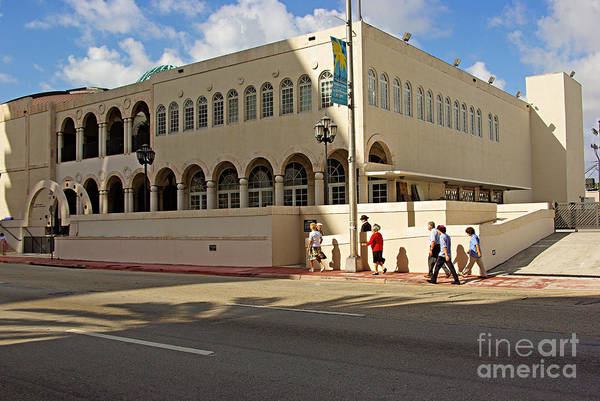 Wall Art - Photograph - Miami Beach Synagogue Saturday Morning by Zal Latzkovich