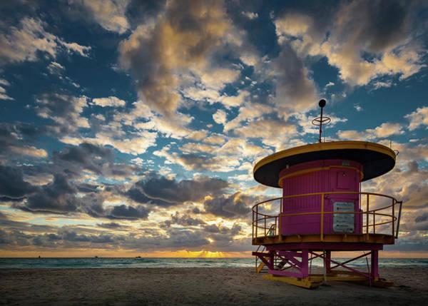 Wall Art - Photograph - Miami Dawn by Dave Bowman