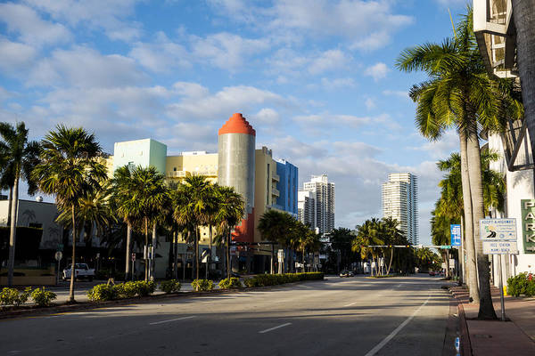 Photograph - Miami Florida South Beach Fifth Avenue by Toby McGuire