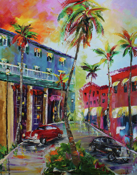 Painting - Miami by Kevin Brown