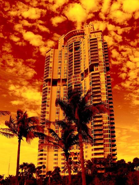 Oceanfront Photograph - Miami South Pointe IIi Highrise by Monique Wegmueller