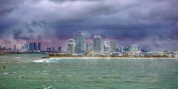 Wall Art - Photograph - Miami Stormy Day by Betsy Knapp