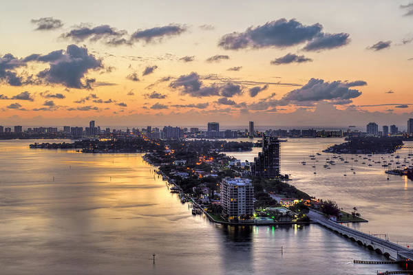 Photograph - Miami Sunrise by Mark Whitt
