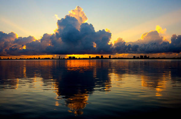 Wall Art - Photograph - Miami Sunrise by William Wetmore