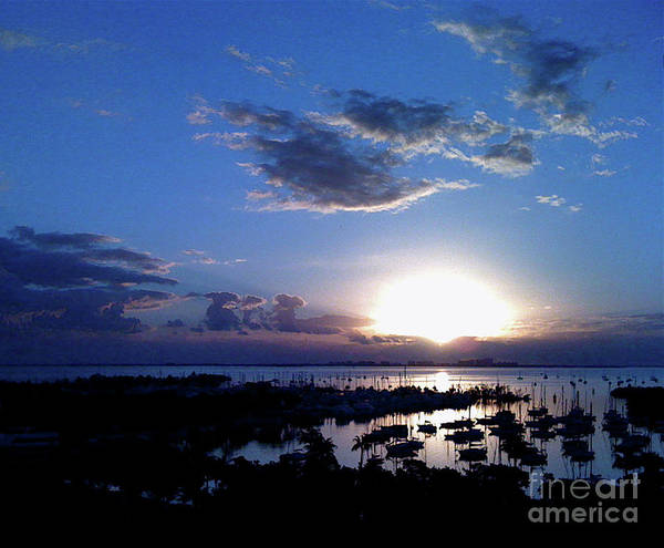 Photograph - Miamisunset by Mary Kobet