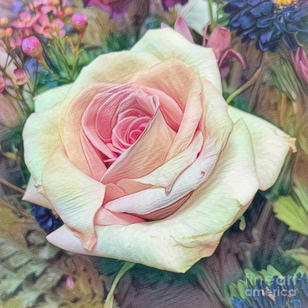 Photograph - Mia's Rose by Luther Fine Art