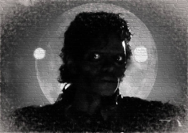 Digital Art - Michael Jackson 2  Thriller by Ericamaxine Price