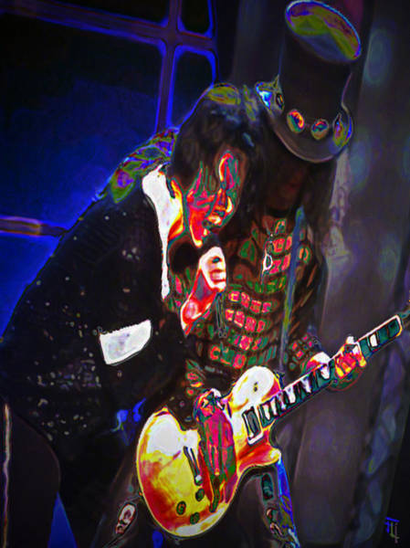 Famous People Digital Art - Michael Jackson And Slash by  Fli Art