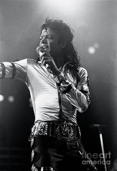 Michael Jackson Photograph - Michael Jackson Painting by Concert Photos