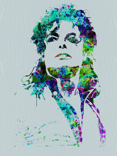 Wall Art - Painting - Michael Jackson by Naxart Studio