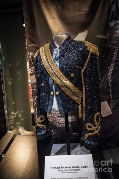 Michael Jackson Photograph - Michael Jackson Jacket by David Bearden