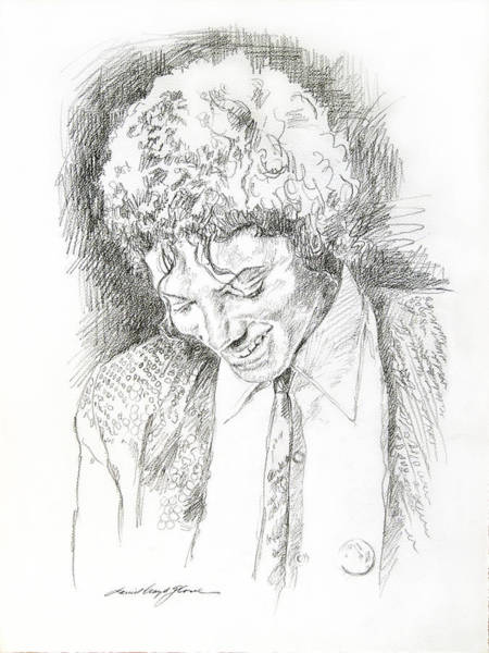 Attractive Drawing - Michael Jackson - Remember The Time by David Lloyd Glover