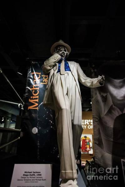 Michael Jackson Photograph - Michael Jackson Suit by David Bearden