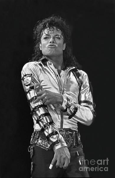 Michael Jackson Photograph - Michael Jackson The King Of Pop by Concert Photos