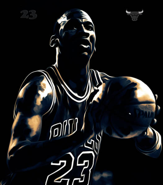 dd200898726675 Dennis Rodman Wall Art - Mixed Media - Michael Jordan Stay Focused by Brian  Reaves