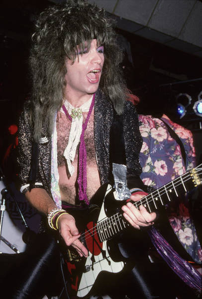 Photograph - Michael Kelly Smith Of Britny Fox by Rich Fuscia