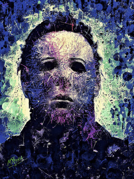 Mixed Media - Michael Myers by Al Matra