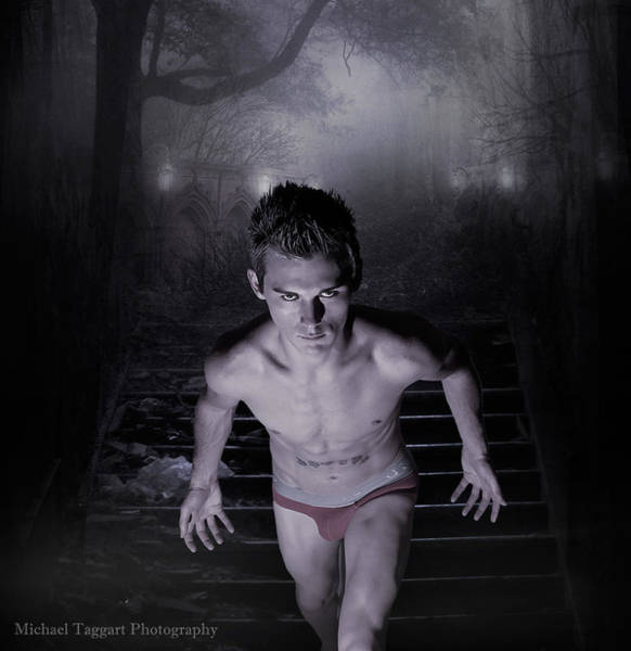 Photograph - Michael Phelps - Gotcha by Michael Taggart