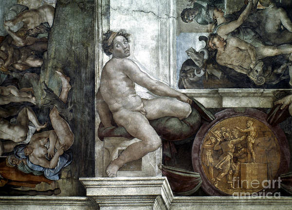 Painting - Michelangelo: Idol by Granger
