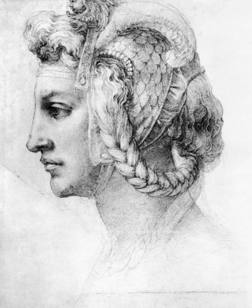 Photograph - Michelangelo: Woman, C1528 by Granger
