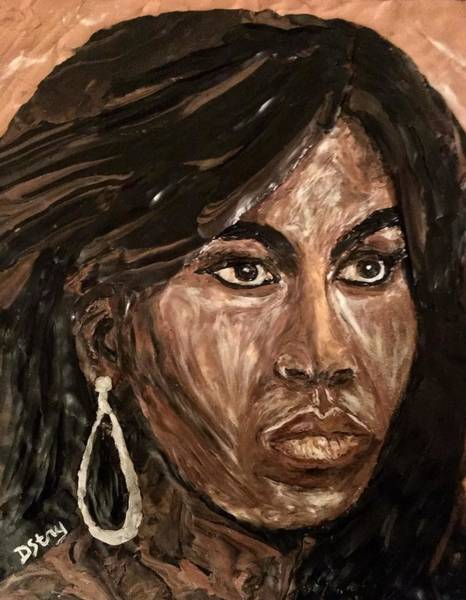 Mixed Media - Michelle Obama A Class Act by Deborah Stanley