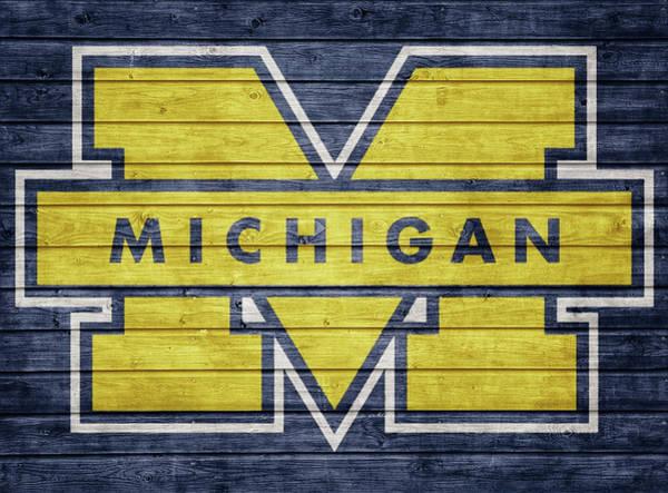 Mixed Media - Michigan Barn Door by Dan Sproul
