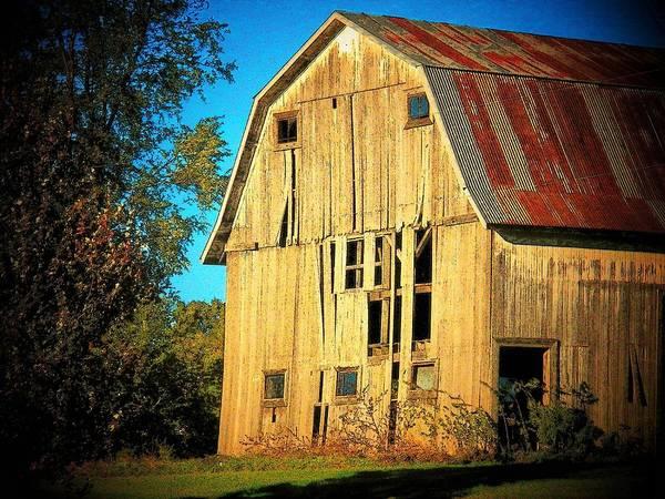 Wall Art - Photograph - Michigan Barn by Joyce Kimble Smith