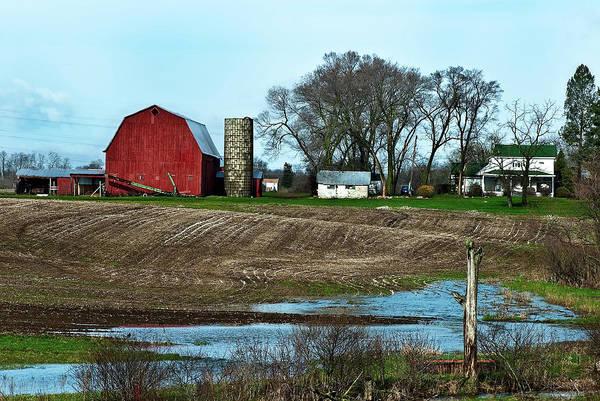 Photograph - Michigan Farm by  Onyonet  Photo Studios