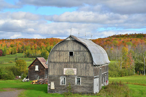 Photograph - Michigan Farm Scene by Ray Mathis