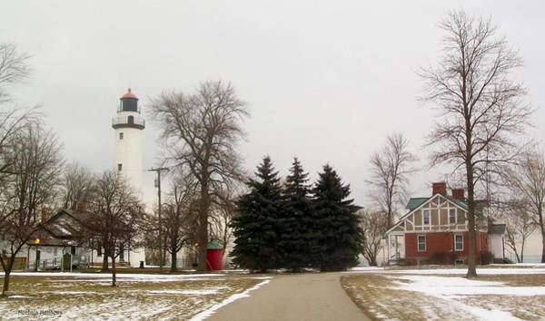 Photograph - Michigan Lighthouse by Mechala Matthews