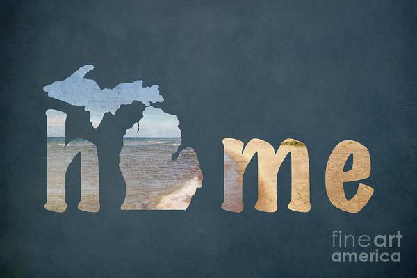Holland Mi Wall Art - Photograph - Michigan My Home by Emily Kay