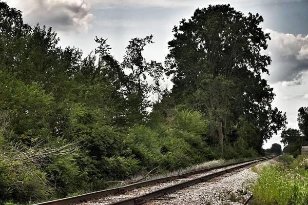 Photograph - 2003 - Michigan Rails I by Sheryl L Sutter