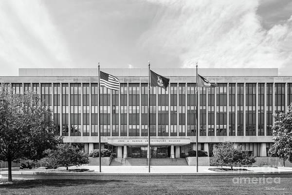 Photograph - Michigan State University Adminstration by University Icons