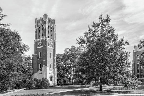 Photograph - Michigan State University Beaumont Tower Landscape by University Icons