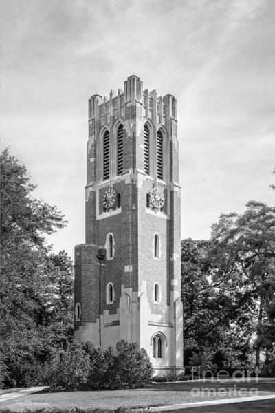 Photograph - Michigan State University Beaumont Tower  by University Icons