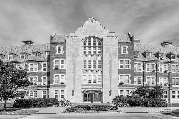 Photograph - Michigan State University Natural Science Building by University Icons