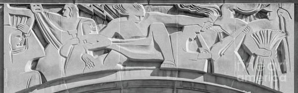 Photograph - Michigan State University Union Detail by University Icons