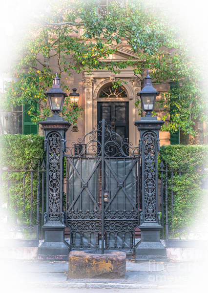 Photograph - Mickell Jenkins Home Grand Entrance by Dale Powell