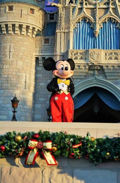 Digital Art - Mickey Mouse Holiday by Barkley Simpson