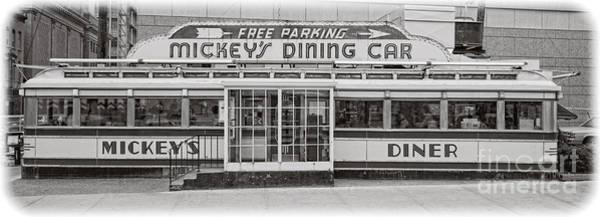 Wall Art - Photograph - Mickey's Dining Car by Edward Fielding