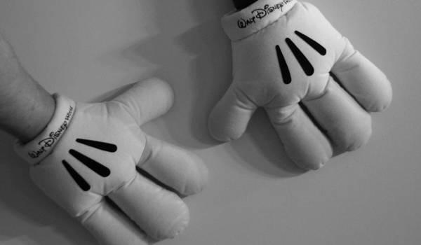 Walt Disney Word Photograph - Mickeys Hands by Rob Hans