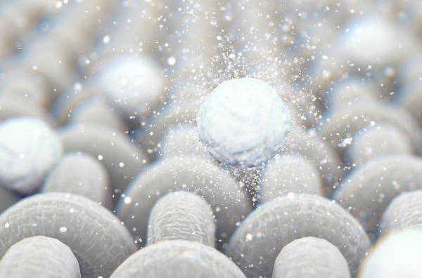 Cloth Digital Art - Micro Fabric Weave And Washing Powder by Allan Swart